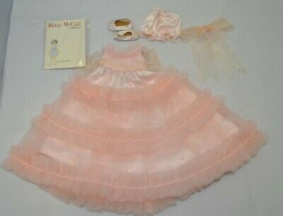 """Tonner 14"""" Betsy McCall Pink Formal Gown NEW Complete"""