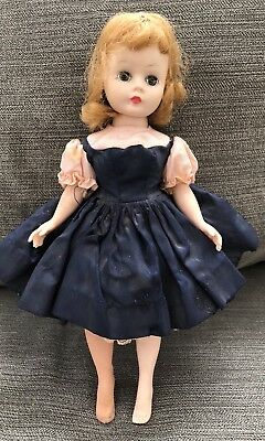 Vintage 1950's Madame Alexander Cissette Doll in Tagged Dress TLC