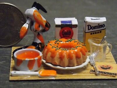 Dollhouse Miniature Food Turkey Cooked Table Ready 1:12 scale E26 Dollys Gallery