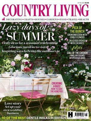 New Country Living Magazine June 2018