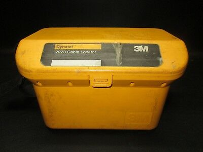 3M Dynatel 2273 Cable Pipe Fault Locator Transmitter 2273-U3T3
