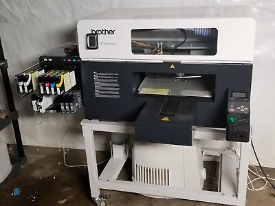Brother GT 3 Series - 361 DTG Printer + Stand + Fusion Heat Press + Cube & more
