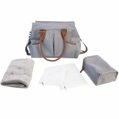 Bo Jungle B-Casual Nursery Bag Grey Mommy Diaper Nappy Changing Case B300340
