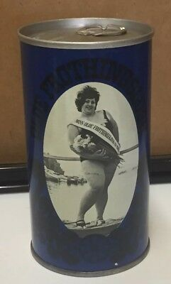 Olde Frothingslosh Flat Top Steel 1969 Beer Can Ms. Pittsburg Brewing Co. Blue
