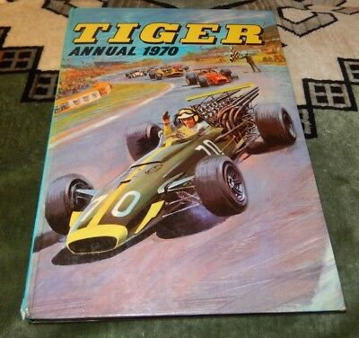1970 TIGER ANNUAL ~ Ft. ROY OF THE ROVERS, SKID SOLO, JOHNNY COUGAR