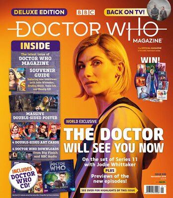 Doctor Who Magazine Issue 530 Deluxe Edition: JODIE WHITTAKER COVER EXCLUSIVE