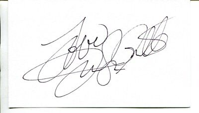 Charlie's angels - Jaclyn Smith  signed autograph NO RESERVE B2499