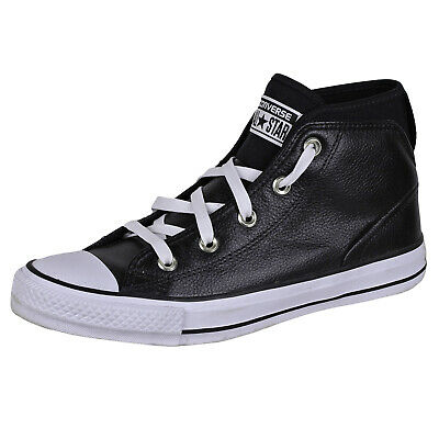 Converse Men's Chuck Taylor All Star Street Shoes 157537C Black 5.5