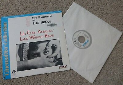 Un Chien Andalou / Land Without Bread Laserdisc The CinemaDisc Collection