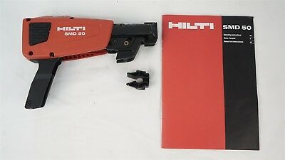 Hilti SMD-50 Screw Magazine Can Be Used with SD-4500, SD-2500 and SD-4500-A