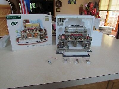 2007 Dept. 56 Christmas in the City:  Christmas at Lakeside Pavilion Coll. Ed.