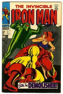 Iron Man #2 (1968) VF- New Marvel Silver Bronze Collection
