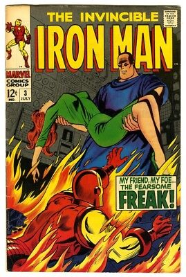 Iron Man #3 (1968) VF New Marvel Silver Bronze Collection