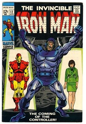Iron Man #12 (1969) VF- New Marvel Silver Bronze Collection