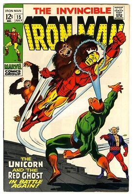 Iron Man #15 (1969) VF/NM New Marvel Silver Bronze Collection