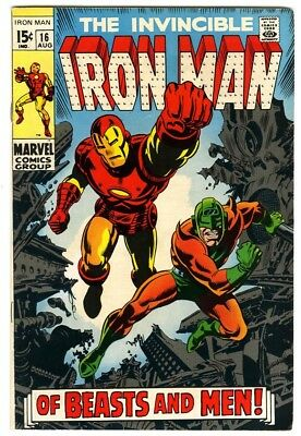 Iron Man #16 (1969) Fine New Marvel Silver Bronze Collection
