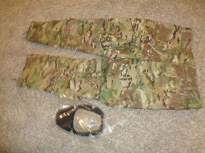 USGI TEAM ARMY COMBAT PANTS w/ Crye Knee Pads Multicam OCP  X-LARGE SHORT * NWOT