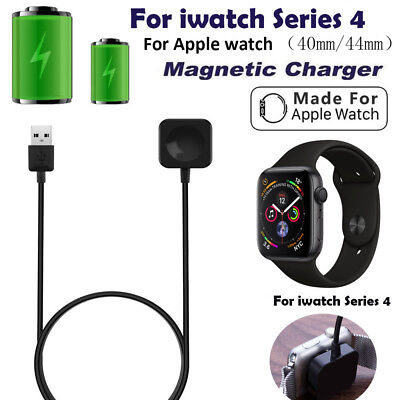 Magnetic Wireless Charger Cable Charging Dock For Apple Watch iWatch Series 4
