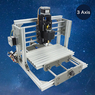 3 Axis DIY CNC USB Desktop Wood Engraving Machine PCB Milling Router Engraver