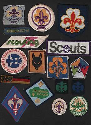 OPC Vintage Lot of 17 International BSA Patches