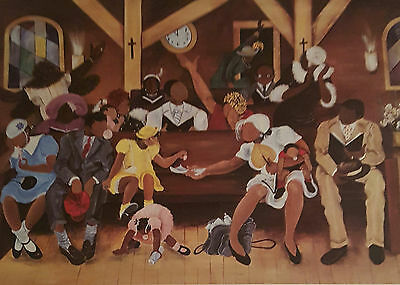 Annie Lee Print GIMME DAT GUM/Religious/African American Art Liquidation SALE!