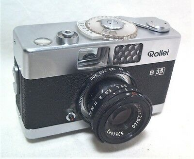 "Rollei B35 Compact 35Mm Camera - Marked: "" Made In Singapore "" Version"