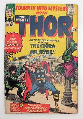 Journey Into Mystery #105 (F-) 5.5 Silver Age Marvel, Thor