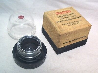 Retina Curtar Xenon C 35Mm 5.6 Wide Angle Lens - Minty With Bubble Case In Ob