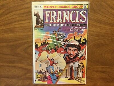 Marvel 1980 Francis Brother Of The Universe 1 Francis Bernadone John Buscema 800