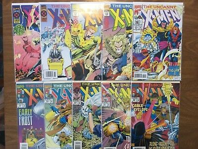 The Uncanny Xmen 310-320 Missing Book 319 Wolverine Phalanx Covennant