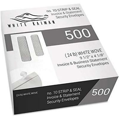 500 Ct 10 Peel & Seal Double Window Security Envelopes - Designed For Business 9