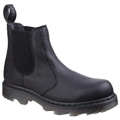 Dr Martens Howden Service Boots Mens Chelsea Industrial Occupational Work Shoes