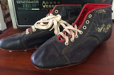 1940's/50's Vintage Duncan Thompson Football Rubgy League Boots