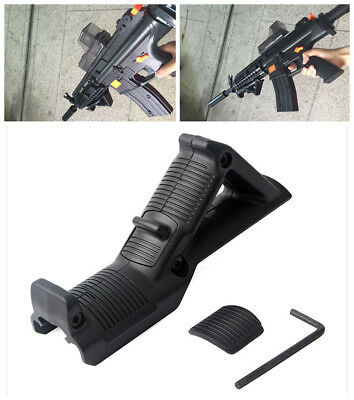 Tactical Angled Foregrip Hand Guard Front Grip for 20mm Picatinny Rail Rifle