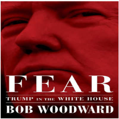 Fear: Trump in the White House by Bob Woodward Hardcover FREE SHIPPING