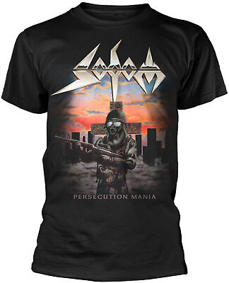 SODOM Persecution Mania T-SHIRT OFFICIAL MERCHANDISE