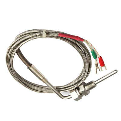 K Type Thermocouple Exhaust Probe High Temperature Sensors Threads 2M EGT