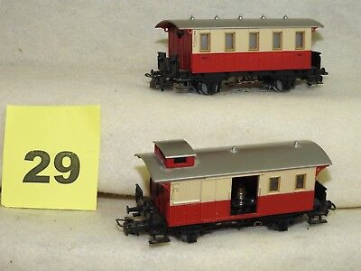 Set Of Five Marklin Ho Scale Freight Car Ready To Run