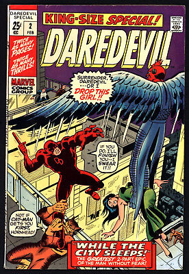 Daredevil Annual #2 1971. Non Distributed. White Pages, Glossy!