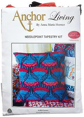 Anchor Living Needlepoint Tapestry Kit by Anna Maria Horner - ALR69  Fanfare