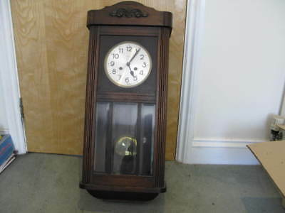 A Vintage Wall Clock with Rare Movement
