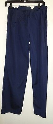 James Perse Low Rise Navy Cotton Pant Made In Usa Sz 3 (M)