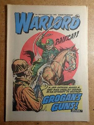 Warlord Comic No.280 2nd February 1980 D.C. Thomson War Action British