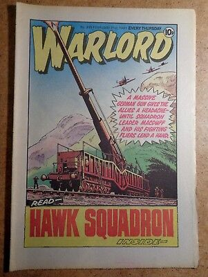 Warlord Comic No.335 21st February 1981 D.C. Thomson War Action British