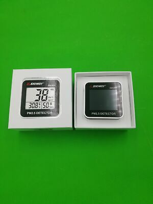 1PCS SNDWAY SW-825 PM 2.5 Detector and Temperature and Humidity meter screen d