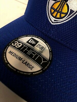 T13 NEW ERA OFFICIAL 39THIRTY EUROLEAGUE Neptunas Blue Baseball Cap * Med/Large