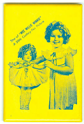Very Good Shirley Temple  Pocket Mirror Advertising  Wee Willie Winkie