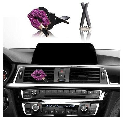 . BLING BLING CAR Accessories Interior Decoration for Girls   Hot Pink  Lipstick
