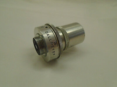 Vintage Dallmeyer Super Six Anastigmat F=13mm F/1.9 45 Lens