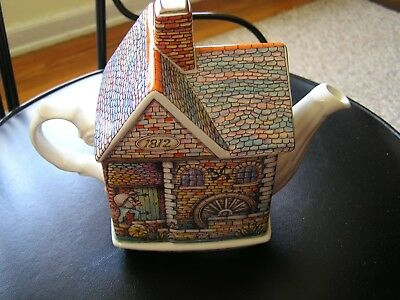 Sadler Teapot The Old Mill Made in England